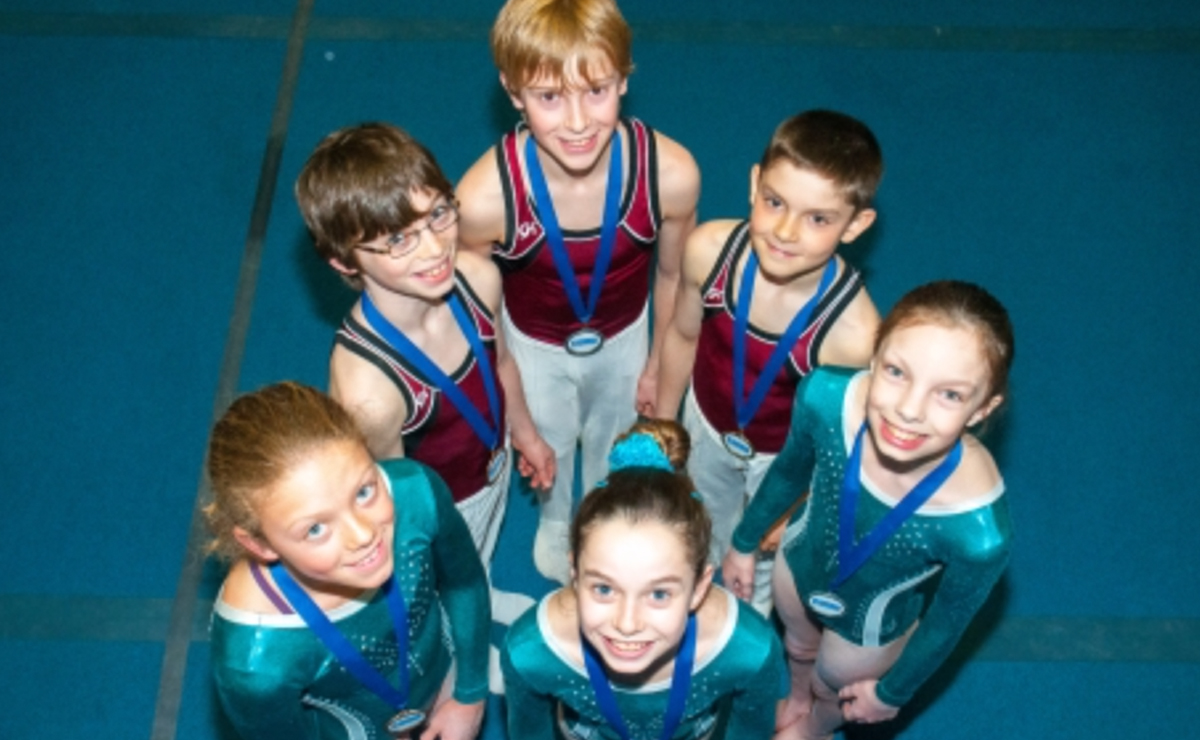 Kingswood Gymnasts represent Fredericton at 2015 Atlantic Gymnastics Championships
