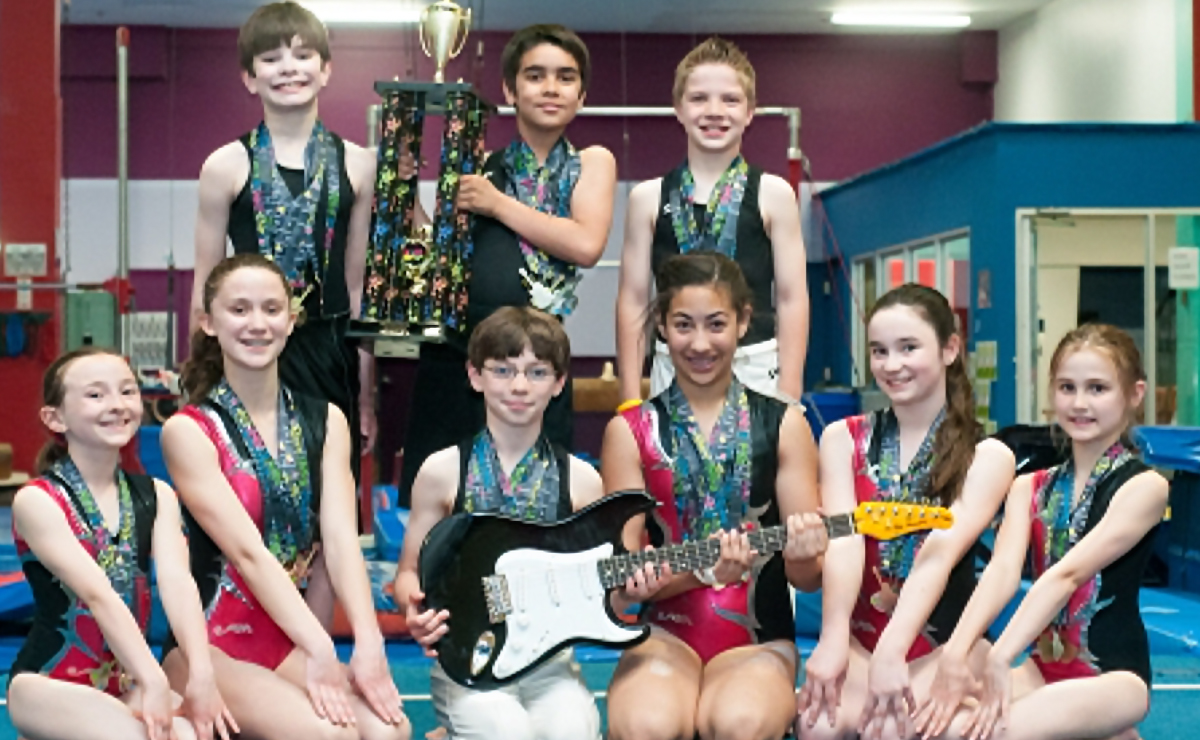 Kingswood Gymnastics Rock the 2015 Rock & Roll Cup