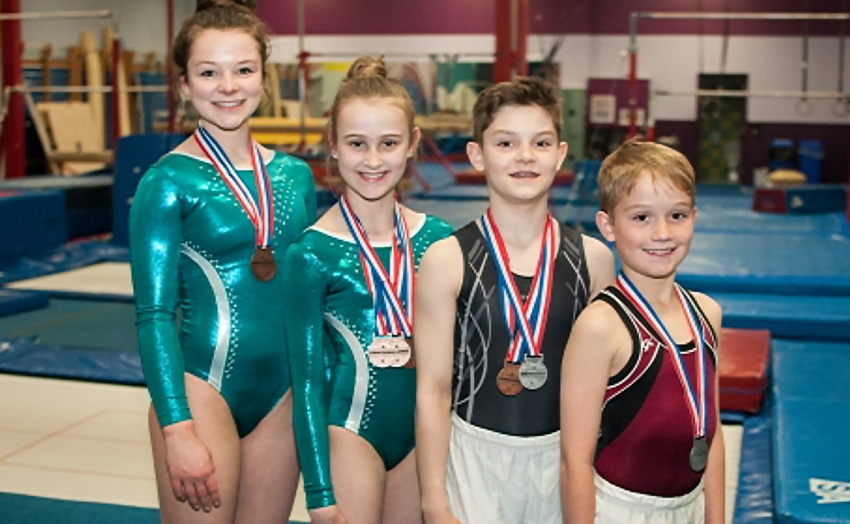 Fredericton Gymnasts Medal at 2016 Eastern Canadian Gymnastics Championships