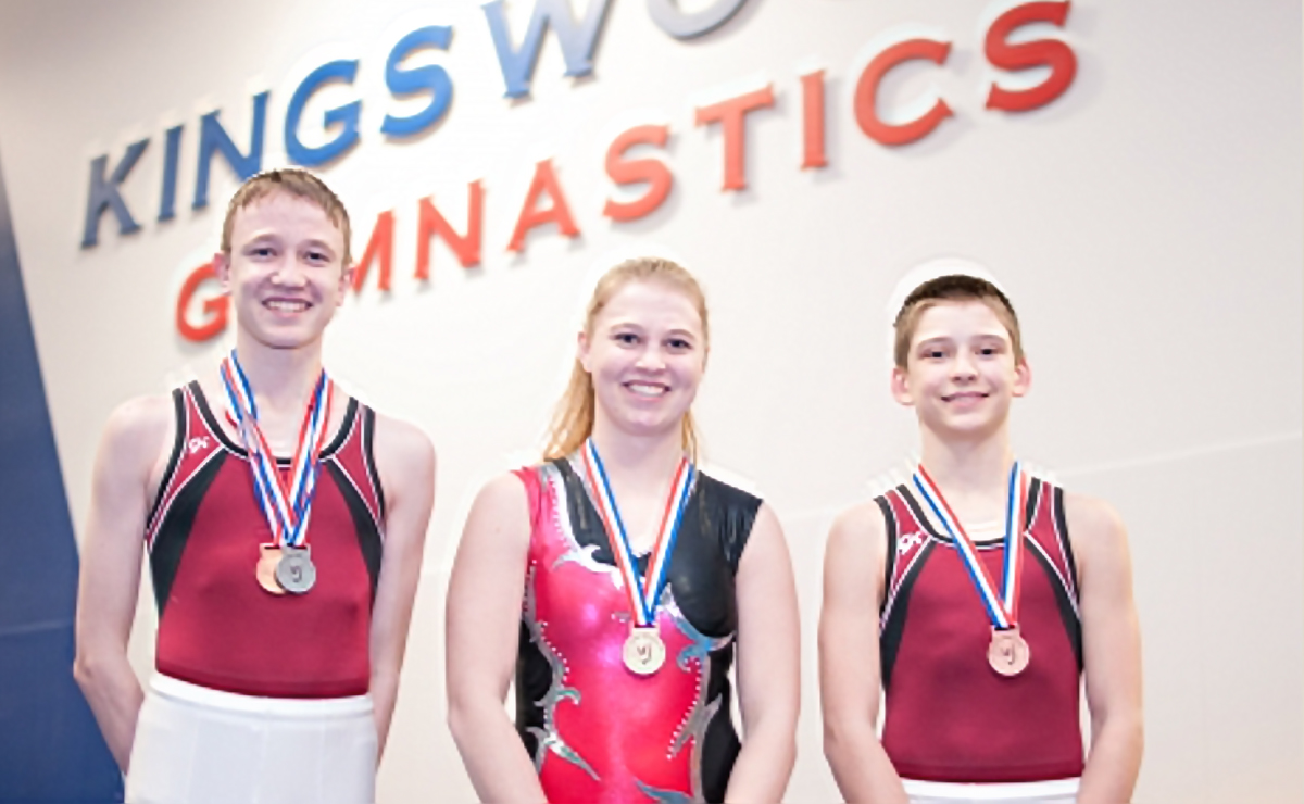 Kingswood Trampolinists take the podium at the Quebec Cup