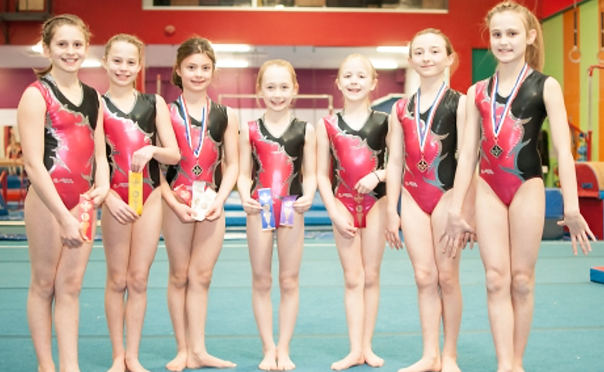 Kingswood Gymnastics makes the podium at the 2016 Taiso Cup