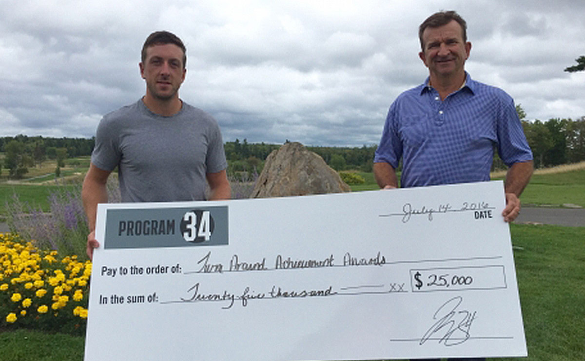 Jake Allen Celebrity Classic donates $25,000 to the Kingswood Turnaround Awards