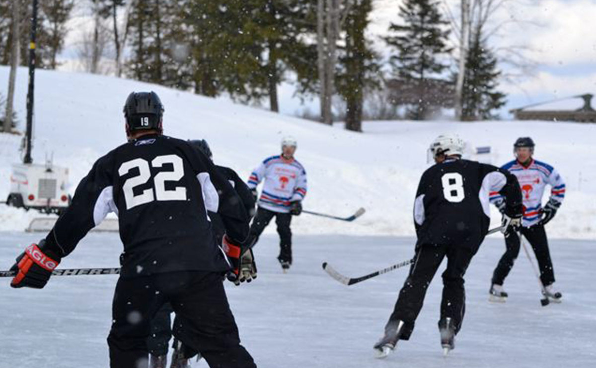 Kingswood Youth Pond Hockey